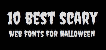 scaryfonts